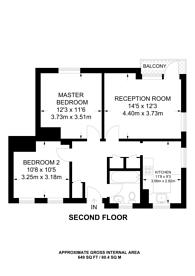 Large floorplan for Gee Street, Clerkenwell, EC1V