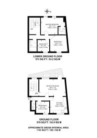 Large floorplan for Vine Hill, Clerkenwell, EC1R