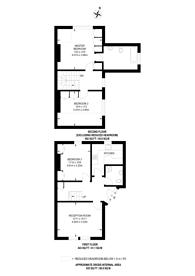 Large floorplan for Sheen Park, Richmond, TW9