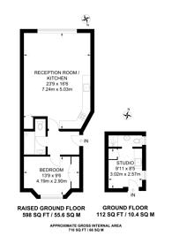 Large floorplan for Hyde Park Square, Hyde Park Estate, W2