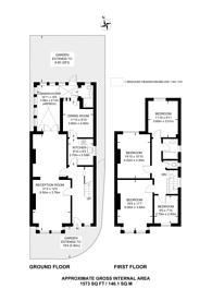 Large floorplan for Mount Ephraim Lane, Streatham Hill, SW16