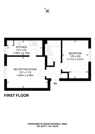Large floorplan for Cotelands, Lloyd Park, CR0