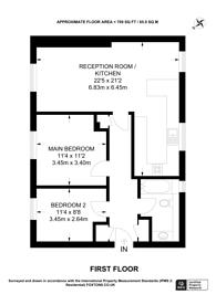 Large floorplan for St Lukes Close, South Norwood, SE25
