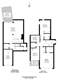 Large floorplan for Cubitt Street, King's Cross, WC1X