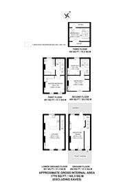 Large floorplan for Royal Hill, Greenwich, SE10