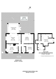 Large floorplan for Westfield Road, Old Woking, GU22