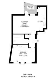 Large floorplan for Fellmonger's Yard, Croydon, CR0