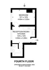 Large floorplan for Gloucester Terrace, Lancaster Gate, W2