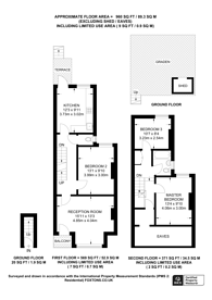 Large floorplan for Rathcoole Gardens, Crouch End, N8