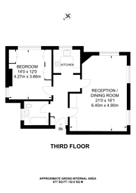 Large floorplan for Chelsea Manor Street, Chelsea, SW3