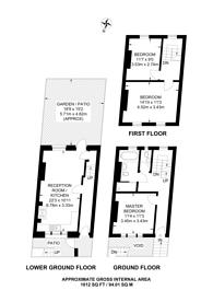Large floorplan for Herbert Street, Kentish Town, NW5