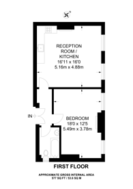 Large floorplan for Coolhurst Road, Crouch End, N8