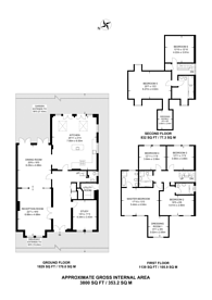 Large floorplan for Henley Drive, Coombe, KT2