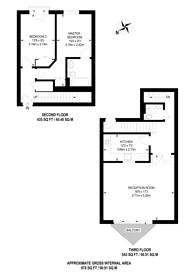Large floorplan for Nova Building, Isle Of Dogs, E14