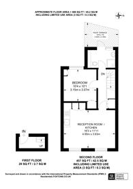 Large floorplan for Commercial Street, Aldgate, E1