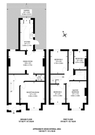 Large floorplan for Dagmar Avenue, Wembley Park, HA9