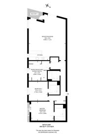 Large floorplan for River Gardens Walk, Greenwich, SE10