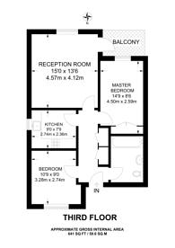 Large floorplan for The Ham, Brentford, TW8