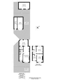 Large floorplan for Horsenden Lane North, Perivale, UB6