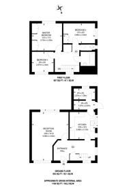 Large floorplan for Compton, GU3, Compton, GU3