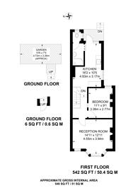 Large floorplan for Harcourt Road, West Ham, E15