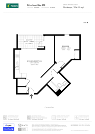 Large floorplan for Silvertown Way, Canning Town, E16