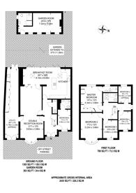 Large floorplan for East Acton Lane, East Acton, W3