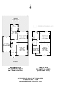 Large floorplan for South Way, Shirley, CR0