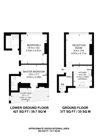 Large floorplan for Wine Office Court, Farringdon, EC4A