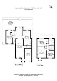 Large floorplan for Heathfield Drive, Mitcham, CR4