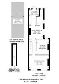 Large floorplan for Jacksons Place, East Croydon, CR0