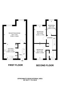Large floorplan for Warwick Crescent, Little Venice, W2