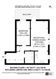 Large floorplan for Tachbrook Street, Pimlico, SW1V