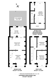 Large floorplan for Gore Road, Raynes Park, SW20