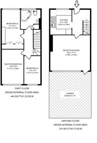 Large floorplan for Dundee House, Maida Vale, Maida Vale, W9