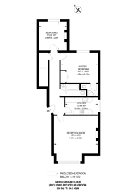Large floorplan for Holland Road, Olympia, W14
