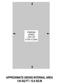 Large floorplan for Parking Space Tower Court, St John's Wood, NW8