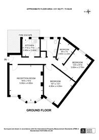 Large floorplan for South Grove, Highgate, N6