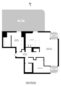 Large floorplan for Worship Street, Shoreditch, EC2A