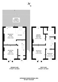 Large floorplan for Peterborough Road, Guildford, GU2