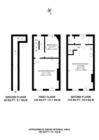 Large floorplan for Great Eastern Street, Shoreditch, EC2A