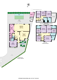 Large floorplan for Brinsdale Road, Hendon, NW4