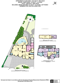 Large floorplan for Weymouth Avenue, Mill Hill, NW7