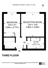 Large floorplan for Woodfield Road, Ealing, W5