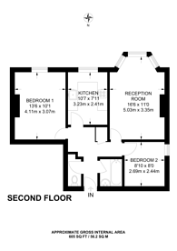 Large floorplan for Queens Crescent, Kentish Town, NW5