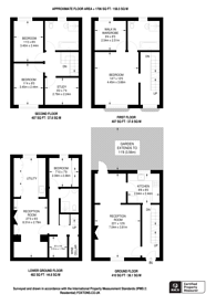 Large floorplan for Batchelor Street, Islington, N1
