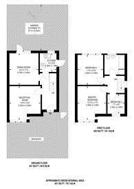 Large floorplan for Pasture Road, Hither Green, SE6