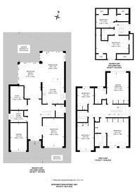 Large floorplan for Thetford Road, New Malden, KT3
