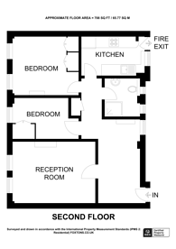 Large floorplan for Fulham road, Chelsea, SW3