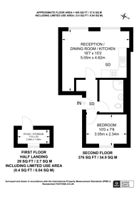 Large floorplan for Alderney Street, Pimlico, SW1V